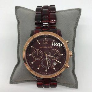 Michael Kors Brown Tortoise Watch
